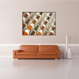 Oranžová geometrie