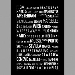 Evropská města