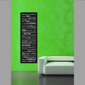 Tanec, dlouhý plakát